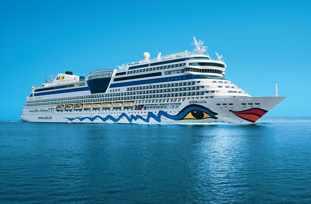 Crucero Mediterráneo Occidental | AIDA | Italia, Francia, España a bordo del AIDAstella