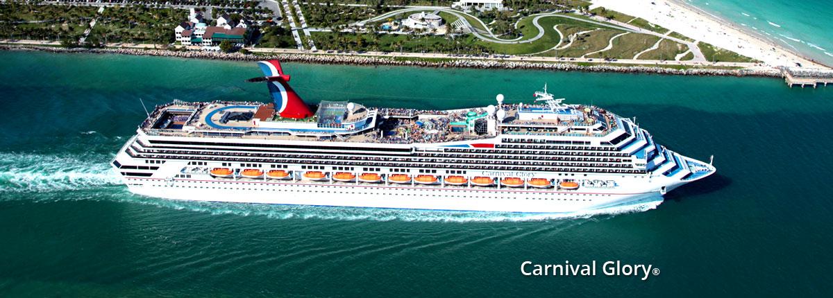 Crucero Caribe | Carnival Cruise Line | EE.UU., Islas Caimán, Belice, México a bordo del Carnival Glory