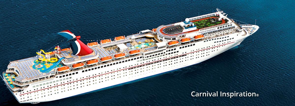 Crucero Riviera Mexicana | Carnival Cruise Line | EE.UU., México a bordo del Carnival Inspiration