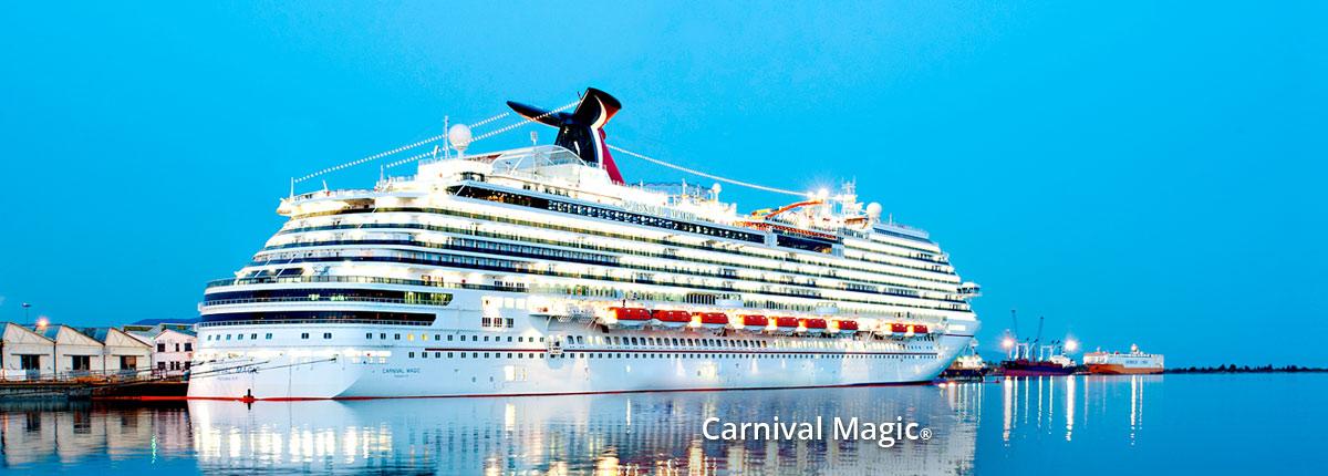 Crucero Caribe | Carnival Cruise Line | Islas Caimán, Belice, México a bordo del Carnival Magic