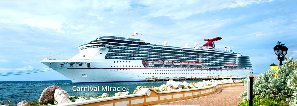 Crucero Riviera Mexicana | Carnival Cruise Line | México a bordo del Carnival Miracle