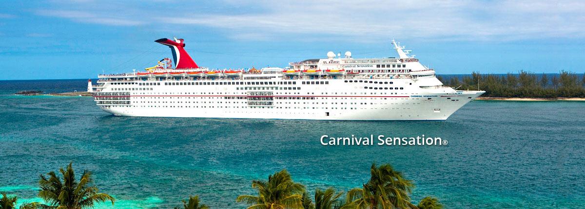 Crucero Caribe | Carnival Cruise Line | Miami, Bahamas a bordo del Carnival Sensation