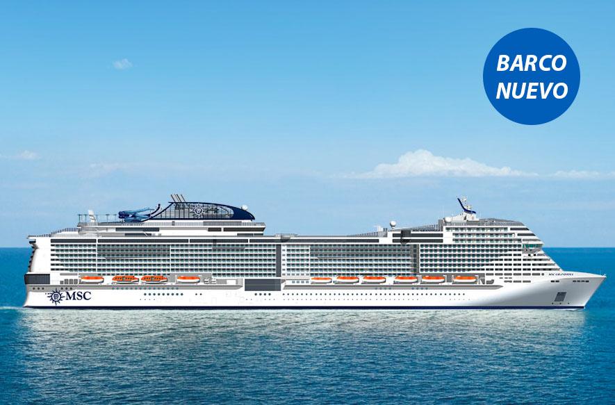 Crucero Mediterráneo Occidental | MSC Cruceros | Francia, Italia a bordo del MSC Grandiosa