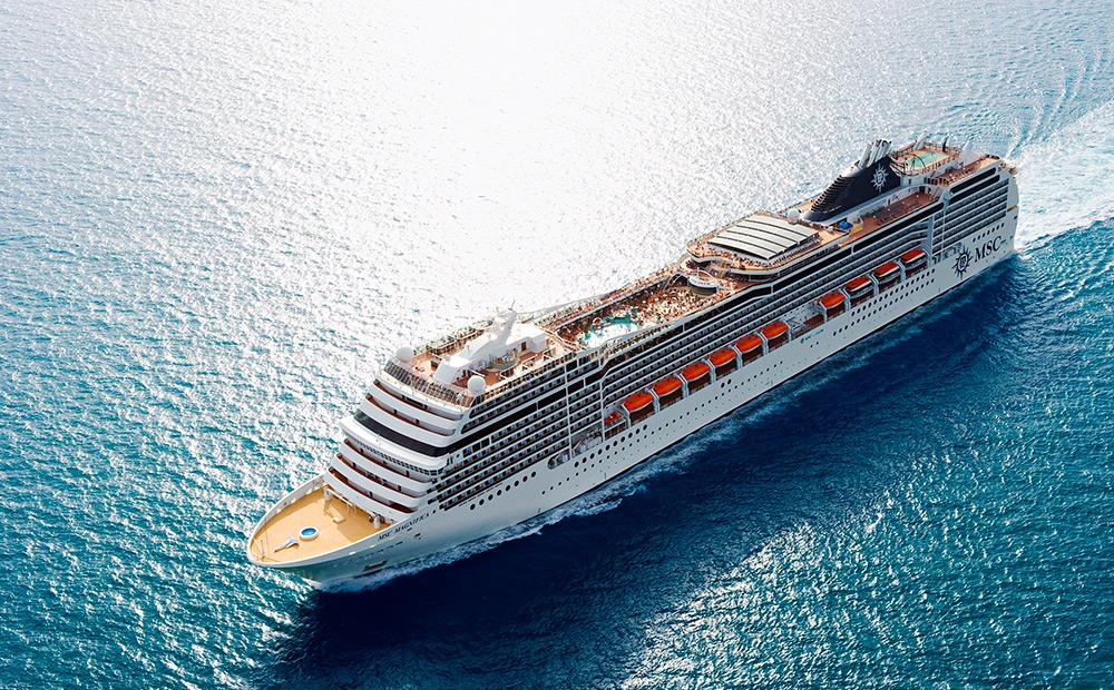 Crucero Transatlánticos | MSC Cruceros | Desde Barcelona a Valparaíso (Chile) a bordo del MSC Magnifica