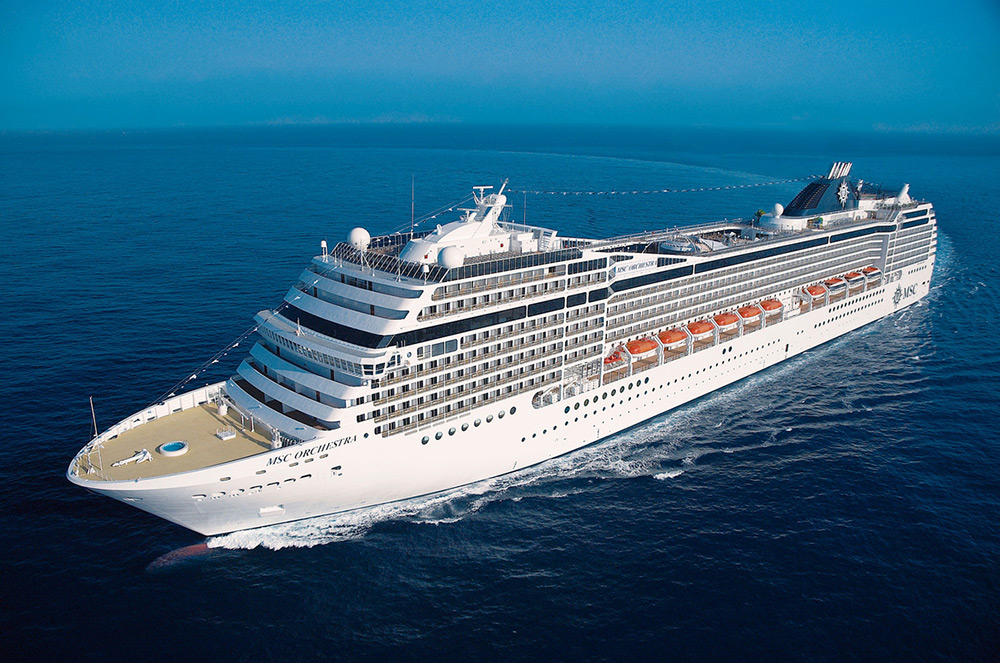 Crucero Entre Europa y África | MSC Cruceros | Desde Génova (Italia) a Durban (Sudáfrica) a bordo del MSC Orchestra