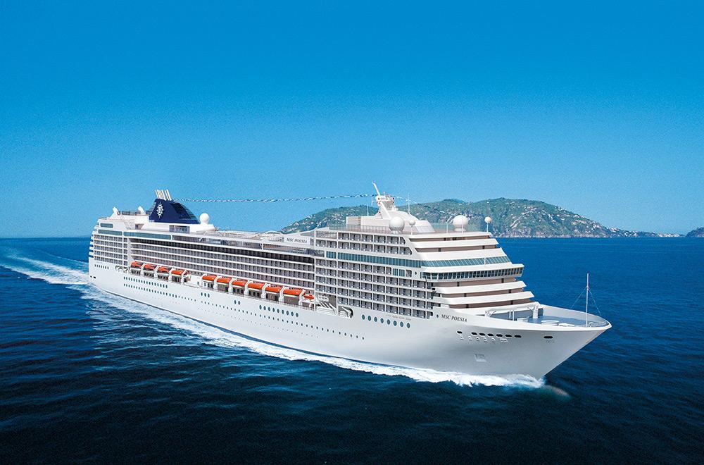 Crucero Islas Canarias | MSC Cruceros | Marruecos, España a bordo del MSC Poesia