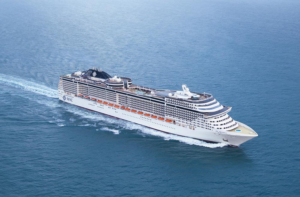 Crucero Mediterráneo Occidental | MSC Cruceros | Italia a bordo del MSC Preziosa
