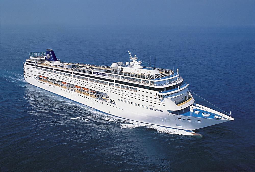 Crucero Mediterráneo Occidental | MSC Cruceros | Italia, Francia, España, Malta, Grecia a bordo del MSC Sinfonia