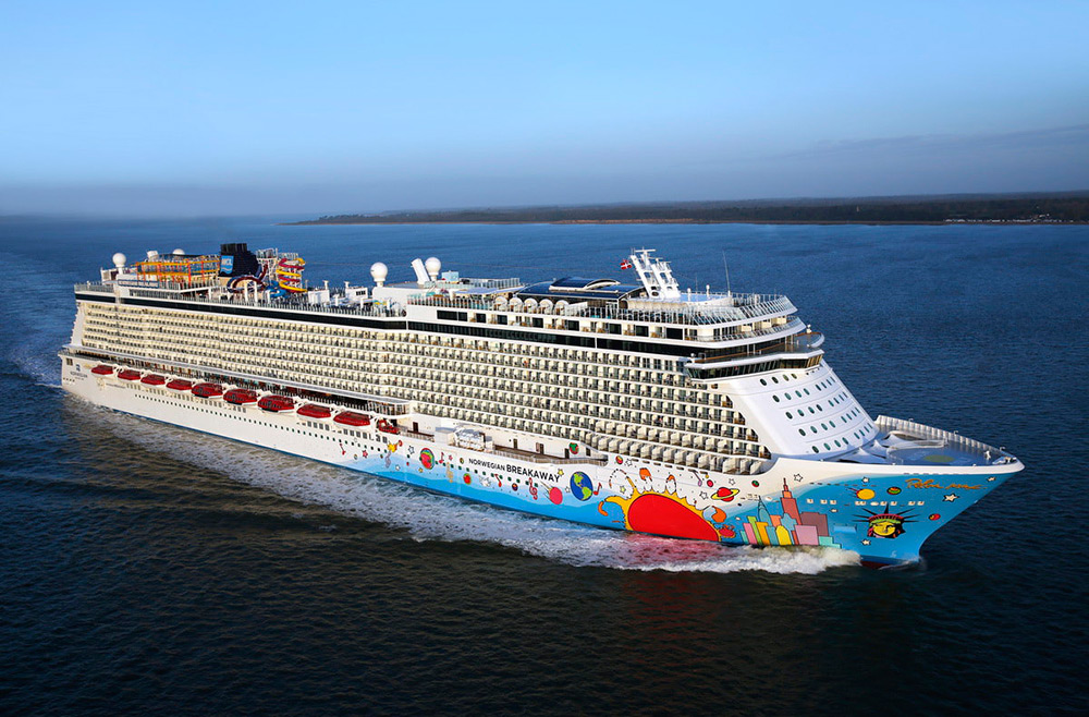 Alemania a bordo del Norwegian Breakaway