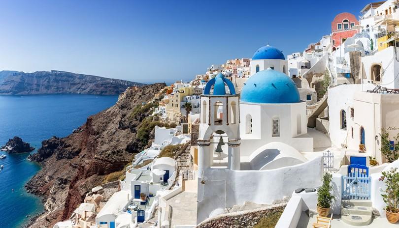 Cruceros en julio de 2019 por el Mediterráneo - Santorini (Grecia)