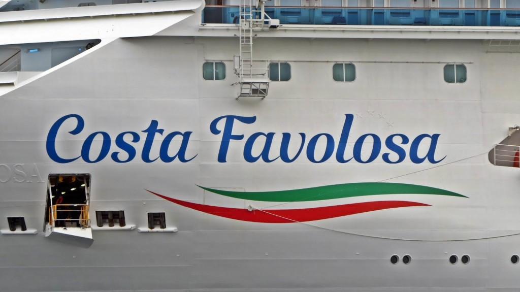 Logo Costa Favolosa
