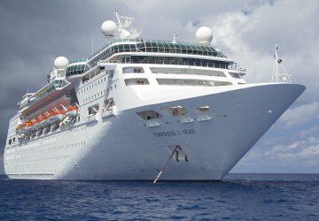 El Empress of the Seas a desguace