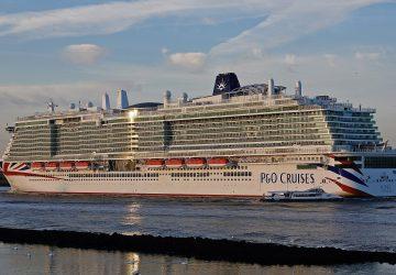 P&O recibe su nuevo buque insignia Iona