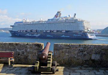 El Mein Schiff 6 debuta en A Coruña