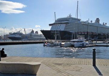 Doblete de cruceros en A Coruña
