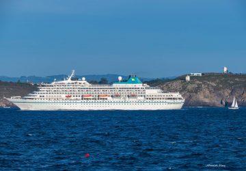 A Coruña recibe la escala inaugural del Amera