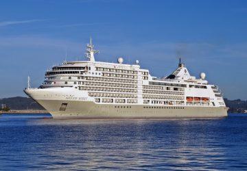 El Silver Spirit visita A Coruña